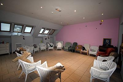 Rénovation EHPAD Maison Ferrari - espace salon avant les travaux