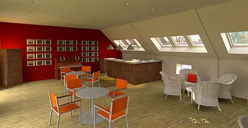 Rénovation de l'EHPAD de la Maison Ferrari - Espace bar
